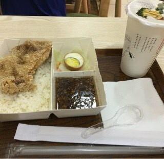台式肉燥鹽酥雞排飯配波霸奶菜 - ใน屯門 จากร้านA Nice Gift (屯門)|ฮ่องกง