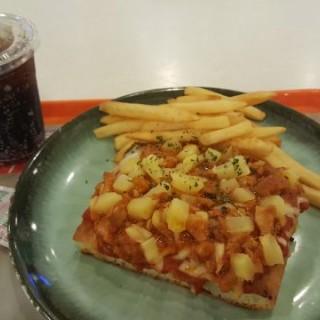 燒烤醬雞菠蘿薄餅 - 位於將軍澳的Pizzaholic (將軍澳) | 香港