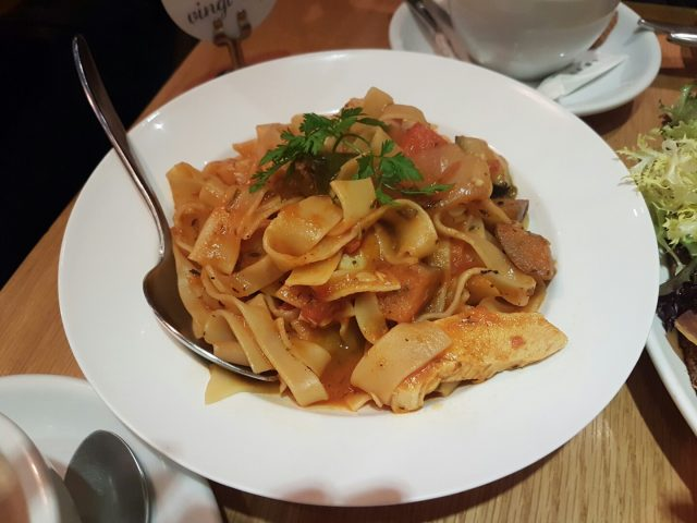 French Ratatouille Fettuccine ( brunch set ) - Odelice! - French - Wan Chai - ฮ่องกง