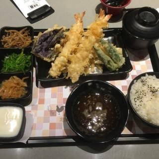 炸蝦天婦羅定食 - 位於屯門的定食8 (屯門)   香港