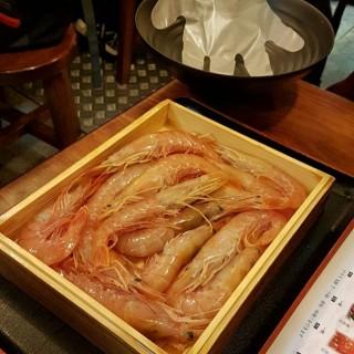 赤海老蝦丼 - 位於銅鑼灣的豊勝手丼 (銅鑼灣) | 香港