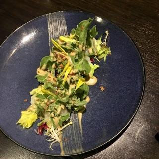 帆立貝冰菜沙律 - 位于尖沙咀的原の味 (尖沙咀) | 香港