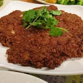 咸魚煎餅 - 位於馬鞍山的金多寶餐廳小廚 (馬鞍山) | 香港