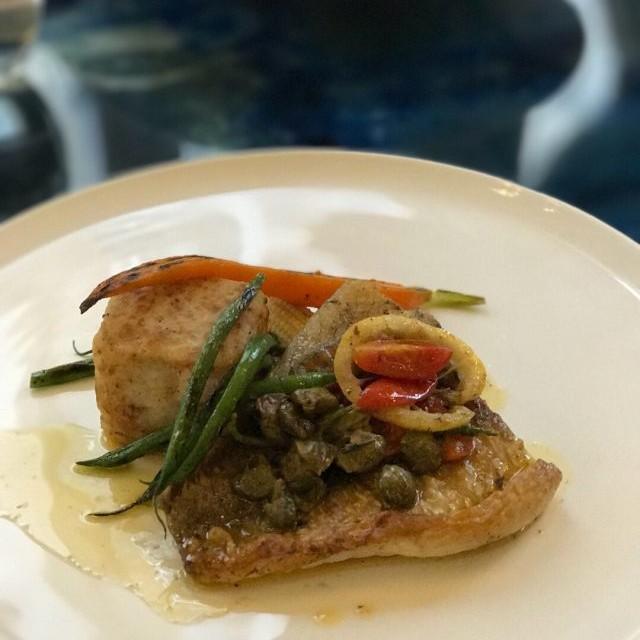 Pan-seared Barramundi w/salted lemon butter - Amici - 扒房 - 中環 - 香港