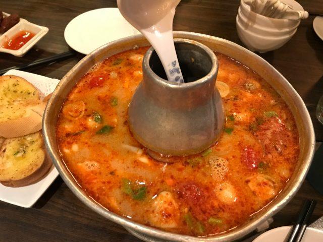 大蝦海鮮冬陰功湯 - 金葉軒 - 泰國菜 - 將軍澳 - 香港