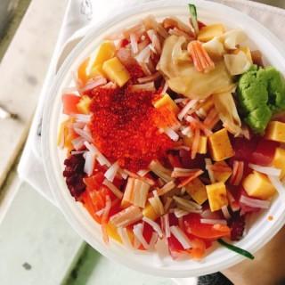 角切魚生飯 - 位於灣仔的御藏 (灣仔) | 香港