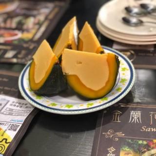 南瓜燉蛋 - 位於灣仔的金蘭花泰國菜 (灣仔) | 香港