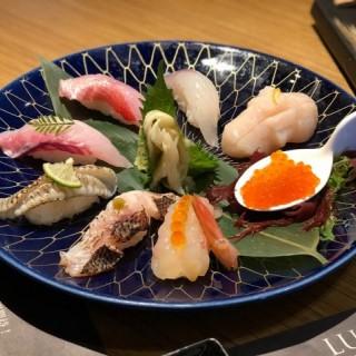 日本直送鮮魚壽司八點盛 - 位於元朗的穴壽司 (元朗) | 香港