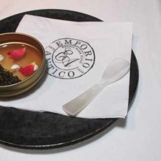 Caviar 'Box' With Lobster Jelly - 位於灣仔的Emporio Antico (灣仔) | 香港
