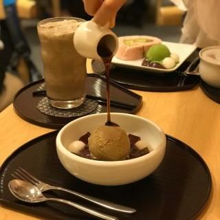 焙茶餡蜜 - 位於銅鑼灣的京林屋 (銅鑼灣) | 香港