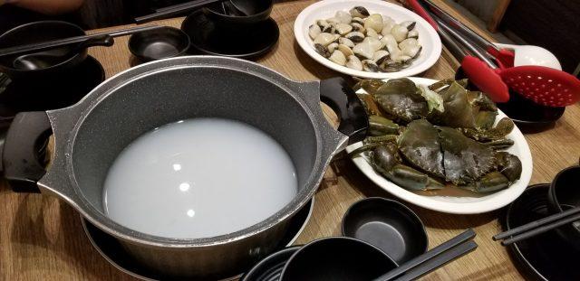 蟹膏蛤仔for粥水湯底 - 鍋心粥底火鍋 - 火鍋 - 大圍 - 香港