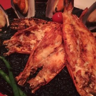 西班牙墨魚汁大蝦海鮮焗飯 - 位於尖沙咀的EL CID西班牙餐廳 (尖沙咀) | 香港