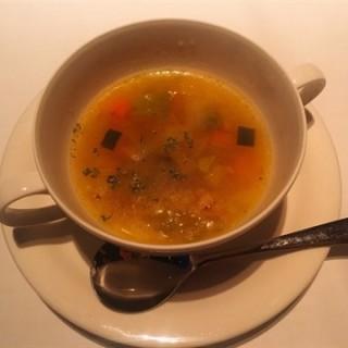 夏野菜のスープ - Gion, Kiyomizu-dera, Higashiyama's ITOH DINING (Gion, Kiyomizu-dera, Higashiyama)|Kyoto