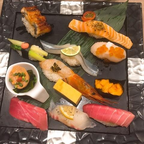 Photo - Shibuya's Umegaoka Sushi no Midori Sohonten Shibuya Store Japanese  - Tokyo