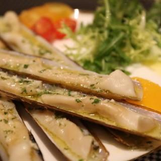 香橙蟶子配火箭菜沙拉 -  dari The Ritz-Carlton Café (路氹城) di 路氹城  Macau
