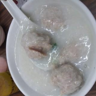 肉丸粥 (細) - 位於新馬路的三元粥品專家 (新馬路) | 澳門