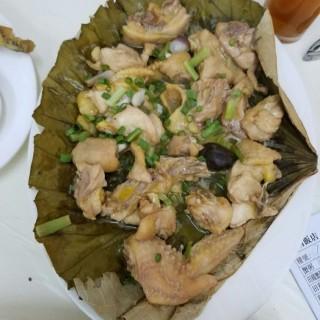 荷葉冬菇蒸走地雞 -  dari Casa de Pasto Seng Choeng (氹仔舊城區) di 氹仔舊城區 |Macau