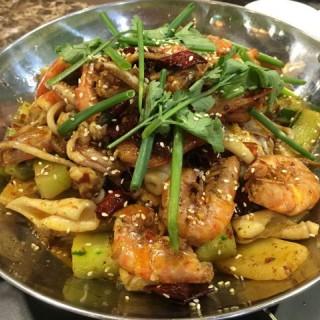 干鍋香辣蝦 -  dari Chon Hou Fondue De marisco (筷子基) di 筷子基 |Macau