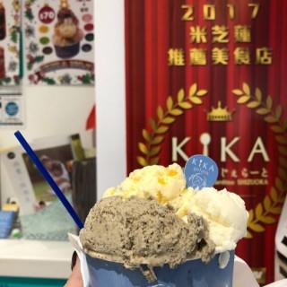 焙茶、豆腐、熱情果 -  dari KIKA (新馬路) di 新馬路 |Macau