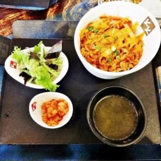 Gochujang Chicken Dup Bap Set - Tanjong Pagar's Chicken Up (Tanjong Pagar)|Singapore