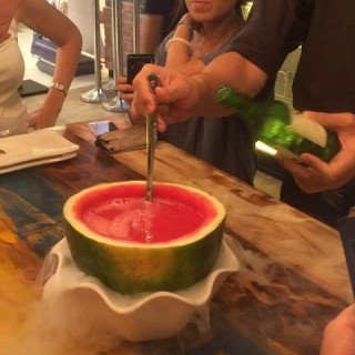 Watermelon Soju -  dari Chicken Up (Marine Parade) di Marine Parade |Singapura