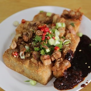 Fried Yam Cake - Tai Seng's Truly Test Kitchen (Tai Seng)|Singapore