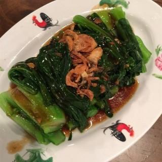 Kailan with Oyster sauce -   / 松发肉骨茶 (Sengkang)|Singapore